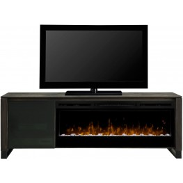 Howden Cap Cod Media Console with Acrylic Ice Firebox
