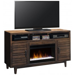 "Glendale Whiskey 62"" Fireplace Console"