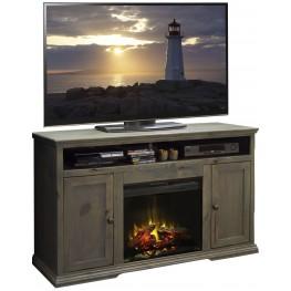 """Greyson Barnwood 59"""" Fireplace Console"""