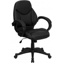Black Contemporary Office Chair (Min Order Qty Required)