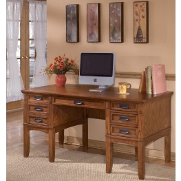 Cross Island Leg Desk with Storage