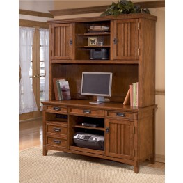 Cross Island Large Credenza w/ Large Hutch