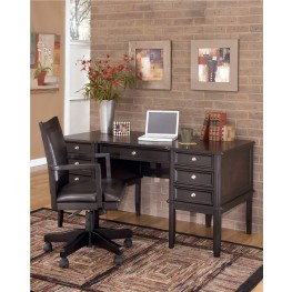 Carlyle Leg Desk with Storage