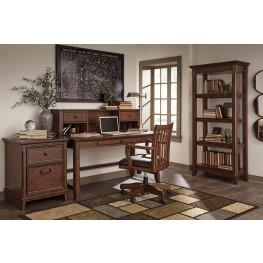 Woodboro Brown Home Office Set