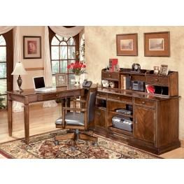 Hamlyn Home Rich Medium Brown Office Set