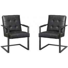 Starmore Brown Home Office Desk Chair Set of 2