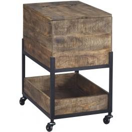 Viganni Light Brown File Cabinet