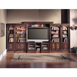 Huntington Entertainment Library Wall Unit