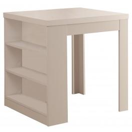 1345 White Bar Table