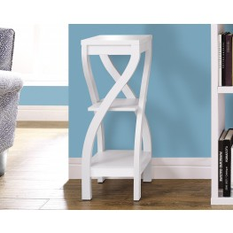 "White 32"" Plant Stand"