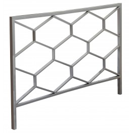 2626Q Silver Queen / Full Size Size Headboard / Footbaord
