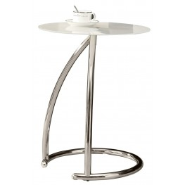 3003 Chrome Metal Accent Table