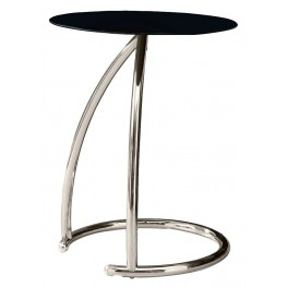 3004 Chrome Metal Accent Table