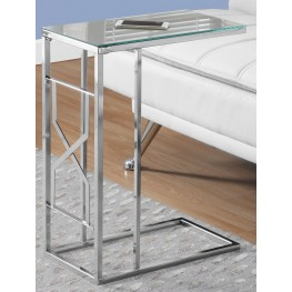 Mirror Top Accent Table