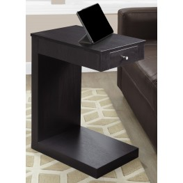 3190 Cappuccino Drawer Accent Table