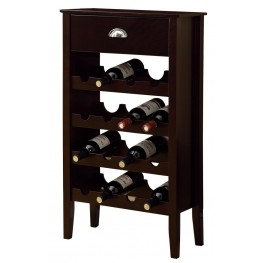 3346 Cappuccino Wine Rack