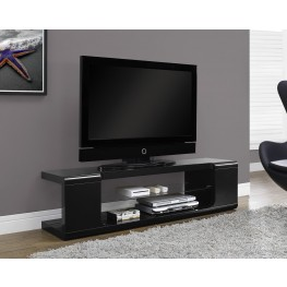High Glossy Black TV Console