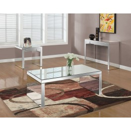Mirror Occasional Table Set