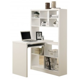 7022 White Left Or Right Facing Corner Desk