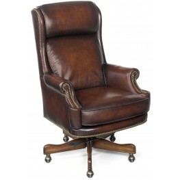 Kevin Brown Leather Executive Swivel Tilt Chair