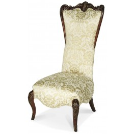 Imperial Court High Back Wood Chair