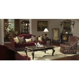 Imperial Court Eggplant Living Room Set