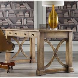 Melange Brown Architectural Writing Desk