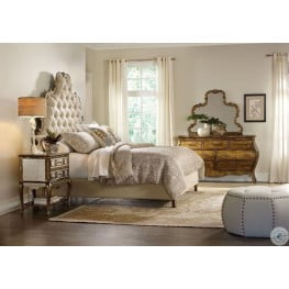 Chatelet Brown Wood Panel Bedroom Set From Hooker Coleman Furniture