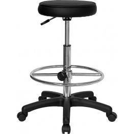 Multi Functional Drafting Stool with Adjustable Foot Ring
