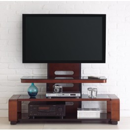 Kirkman Medium Cherry Flat Panel TV Mounting Bracket