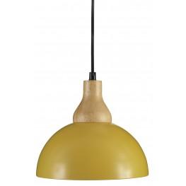 Idania Yellow Metal Pendant Light