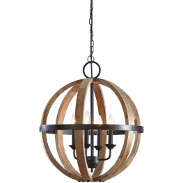 Emilano Wood Pendant Light