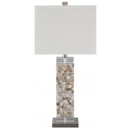 Tahira Cream Shell Table Lamp