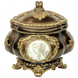 Sophia Golden Trims Decorative Bowl Set of 4