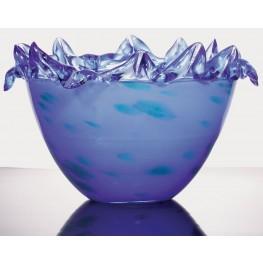 Zul Frozen Blue Decorative Bowl Set of 2