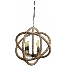 Jonas Beige Ceiling Lamp