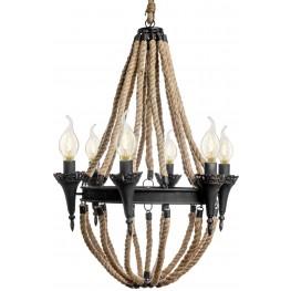 Alva Black Ceiling Lamp