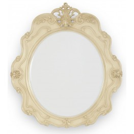 Lavelle Blanc Console Table Mirror