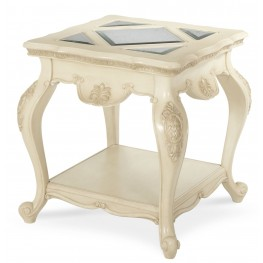 Lavelle Blanc End Table