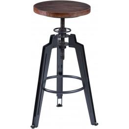 Tribeca Gray Adjustable Barstool