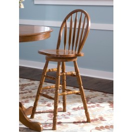 Nostalgia 30 Inch Arrow Back Barstool