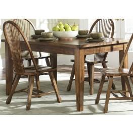 Treasures Oak Leg Table