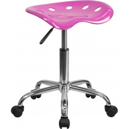 Vibrant Candy Heart Tractor Seat Stool (Min Order Qty Required)