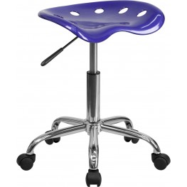 Vibrant Deep Blue Tractor Seat Stool (Min Order Qty Required)