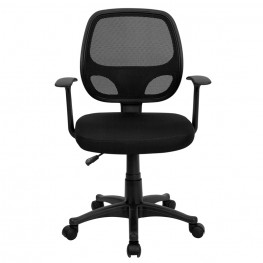 Mid-Back Black Computer Chair