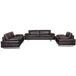 Lindo Leather Living Room Set
