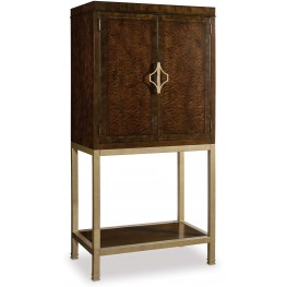 Skyline Brown Bar Cabinet