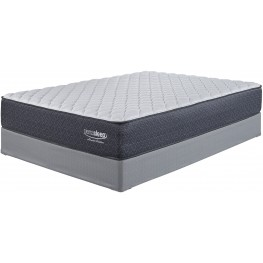 White Cal King Firm Mattress