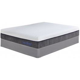"11"" Import Innerspring White Cal. King Mattress"
