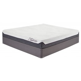 8 Inch Memory Foam White Queen Mattress
